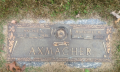 Archie C and Margaret M Loard Axmacher headstone
